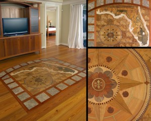 Hardwood Floor Inlays