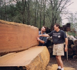 1,700 year old River-Recovered® heart cypress log